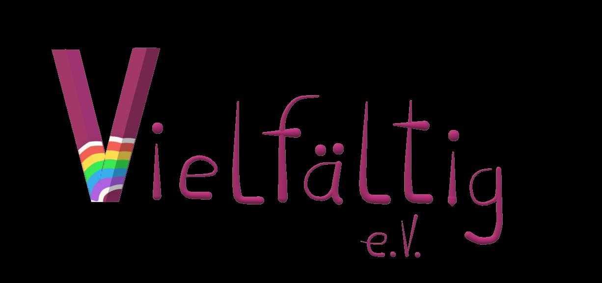 Logo des Vereins vielfältig e.V.